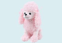 Pink Toy Poodle