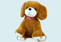 Cute Yellow Toy Dog