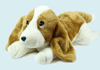 Prone Toy Dog with Big Ears
