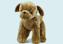 Little Brown Toy dog