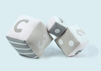 Pink Puzzle Cube Set