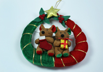 Christmas Mouse Ring Hanger