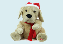 Electric Toy Christmas Dog (Yellow)