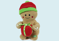Electric Toy Gingerbread man