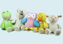 Terry Cloth Toy animals