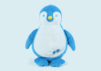 Customized Toy penguin by Bioderma (France)