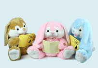 Cute Electric Reading Rabbit Toy