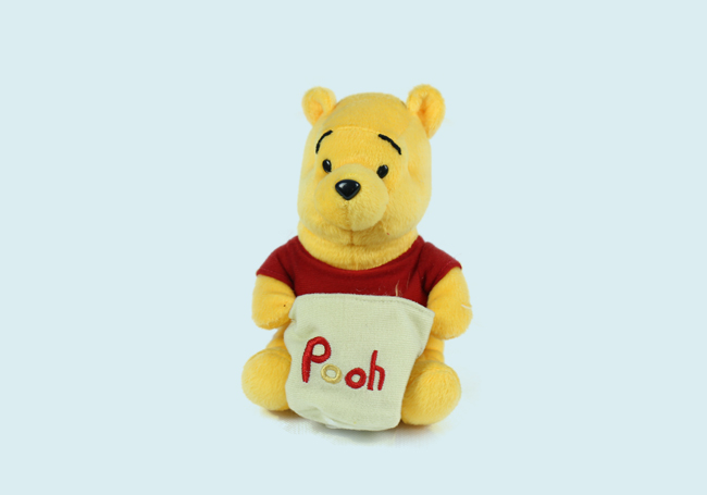 Winnie the Pooh with Bag