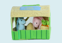 Horses in Stable Toy Suit