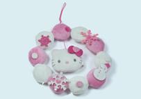 Pink Hello Kitty Garland