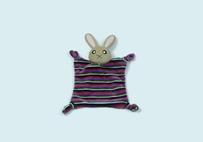 Purple Rabbit Baby's Towel