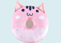 Cat Donut Series Pillow(Pink)