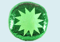 Juice Sequin Pillow Series(Green)