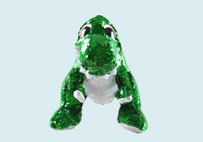 Sequin dinosaur plush toy(Green)
